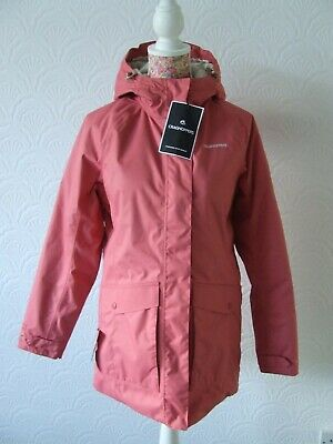 Craghoppers Madigan Thermic Womens Waterproof Jacket. Size 10. Sample • 25£