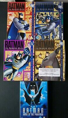 Batman The Animated Series (d. C) - Dvd Boxsets 1 To 4 Plus Feature Film Dvd. • 20£