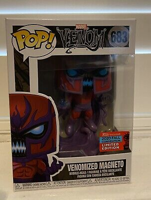 Funko Pop! Vinyl Marvel Venom Venomized Magneto 683 Nycc 2020 Hmv Exclusive • 25£