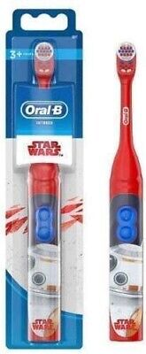 AU15.59 • Buy Oral-B Star Wars Electric Power Toothbrush For Kids Boys Battery Powered Ages 3+