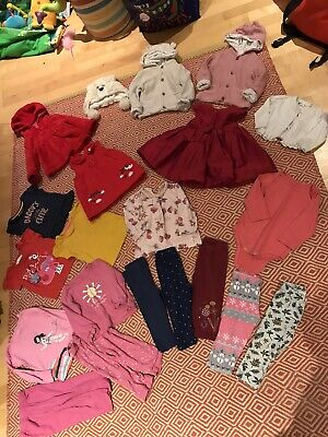 Baby Girl 9-12 Month Winter Christmas Outfit Bundle - Tu, NEXT, George, Primark • 0.99£