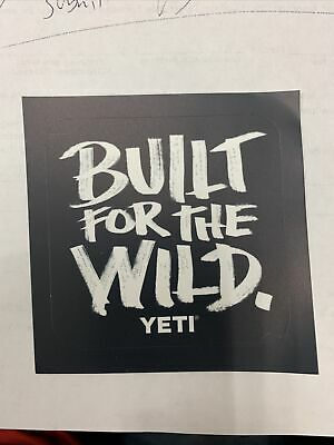Yeti Coolers Sticker/Decal, Brand New Authentic 3in • 1.80£