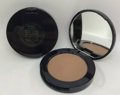 GENUINE ESTEE LAUDER BRONZE GODESS BRONZING POWDER Travel Mirror Compact 5.4g • 6.99£