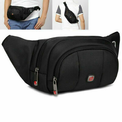 Swiss Gear Running Belt Bum Waist Pouch Hip Travel Pack Zip Sports Bag Vog #s #D • 11.06£
