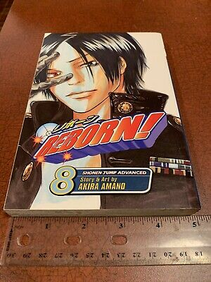 $ CDN53.61 • Buy Reborn! Volume 8 English Manga Akira Amano Shonen Jump Viz Media FREE SHIPPING