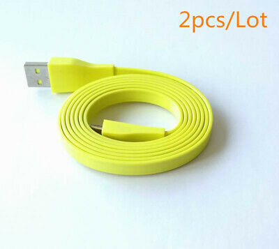 AU17.78 • Buy 2x For Logitech UE BOOM MEGA Bluetooth Speaker PC/DC Charger Micro USB Cable 4ft