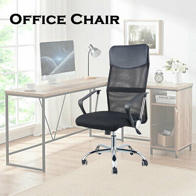 AU75 • Buy Gaming Office Chair Computer Chair Mesh PU Leather Chair High Back Black