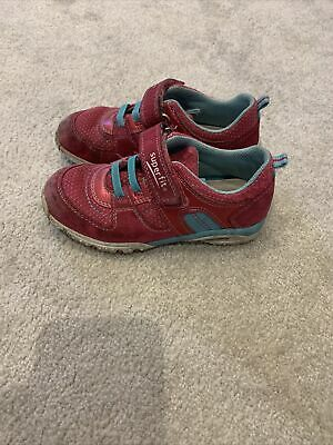 Pink Superfit Girls Trainers Size 28 • 2.70£