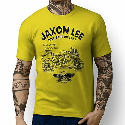 JL Ride Illustration For A Yamaha YZF-R1 2017 Motorbike Fan T-shirt • 19.99£