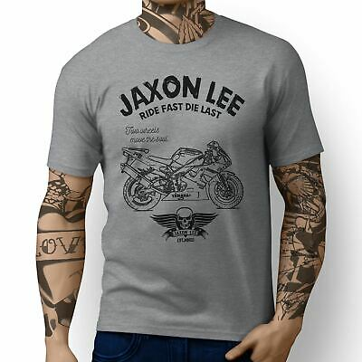 JL Ride Illustration For A Yamaha YZF-R1 1999 Motorbike Fan T-shirt • 19.99£