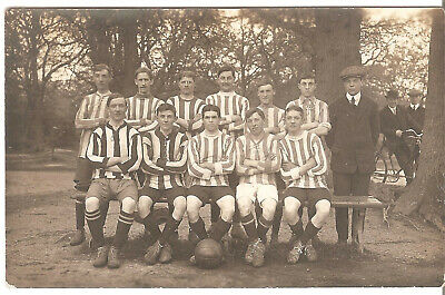 Edwardian RP Southampton Football Team ? On The Common. Canal Walk Publisher • 15£