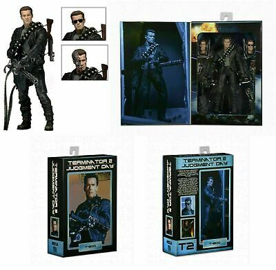 NECA Terminator 2 - Judgment Day - 7  Ultimate T-800 Arnold - Action Figure • 29.99£