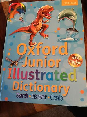 Oxford Junior Illustrated Dictionary-Oxford Dictionaries • 1.60£