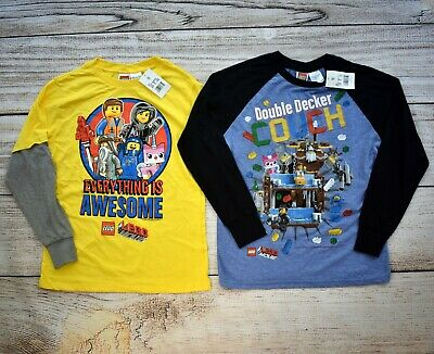 $ CDN19.44 • Buy NWT New LEGO MOVIE T Shirt Lot L 12 14 Double Decker Couch Everything Is Awesome