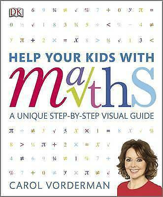 Help Your Kids With Maths By Vorderman, Carol Hardback Book The Cheap Fast Free • 5.49£