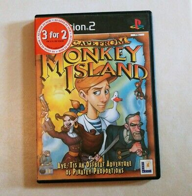 Escape From Monkey Island Playstation 2 (ps2) Uk Pal Boxed & Complete • 2.50£