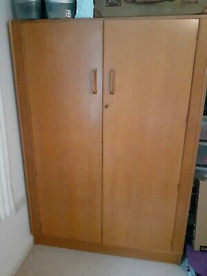 G Plan Wardrobe Retro Vintage 50s. Side Unit In Separate Listing • 70£