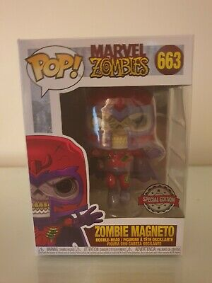 Zombie Magneto Funko Pop Vinyl #66 Marvel Funko Shop Exclusive Minor Box Damage • 4.10£