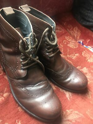Red Herring Mens Boots Size 10 • 15£