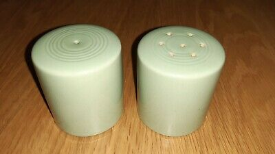 Woods Ware Beryl Salt And Pepper Shakers Table Ware Condiments Dispenser • 24.95£