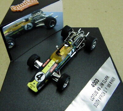 QUARTZO JIM CLARK  LOTUS No49 1968 SOUTH AFRICA GP WINNER - 1/43 • 13£