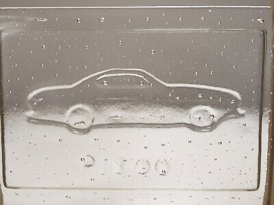 Volvo P1800S. Unique Glass Plaque You Won't See Another One Like This. • 45£