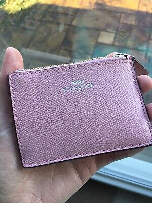 Coach Coin Purse And Card Holder New In Pink • 26.99£