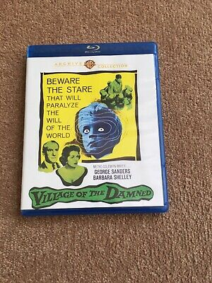 Village Of The Damned US Region Free Blu Ray Warner Archives • 2.20£