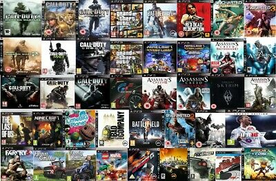 PS3 Games Playstation 3 Assorted PICK ONE OR BUNDLE  - Mint - Super Fast Deliver • 7.75£