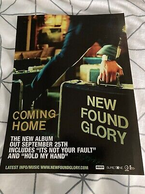 New Found Glory Advertisement Poster - Kerrang! • 1.99£