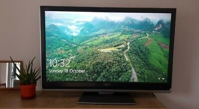 47  Toshiba Regza LCD TV 47WL66E With Stand, Remote, And Power Lead • 65£
