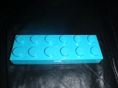 £5 • Buy Lego Branded Turquoise Pen/pencil Case