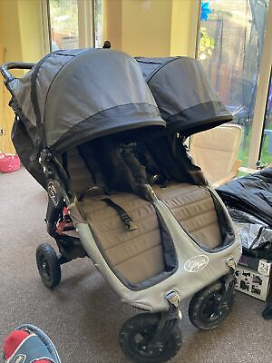 Baby Jogger City Mini GT Double Stroller - Steel Grey • 55£