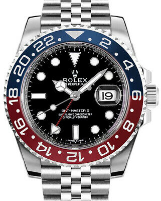 $ CDN28068.60 • Buy Rolex NEW GMT-Master II Steel & Ceramic  Pepsi  Watch Box & Papers 126710BLRO