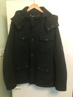 CP Company BLACK FIELD GOGGLE SHELL JACKET Jacket PIT TO PIT 24 (56) • 190£