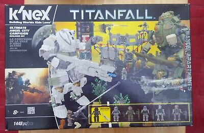 K'nex Titanfall Ultimate Angel City Campaign Building Set. 1448 Pieces. New.  • 10£