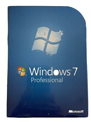 Brand New Sealed Microsoft Windows 7 Professional Full Retail Edition • 65£