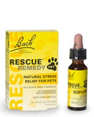 Bach Flower Essences Rescue Remedy 10 Ml  Pet For Cats & Dogs New Calming Relax • 12.90£