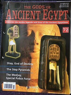 £7.99 • Buy Hachette Gods Of Ancient Egypt Magazine And Figure. 72. Shay