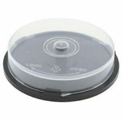 AU24.80 • Buy Empty CD DVD Blu-Ray Spindle Cake Box Storage Container Case Holds 10 Discs