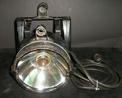 WW-II RAF Lancaster/Halifax/Wellington Cockpit Aldis Signalling Lamp With Plug • 125£