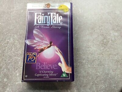 Fairytale A True Story VHS  Video Tape - Warner Bros  • 8.99£