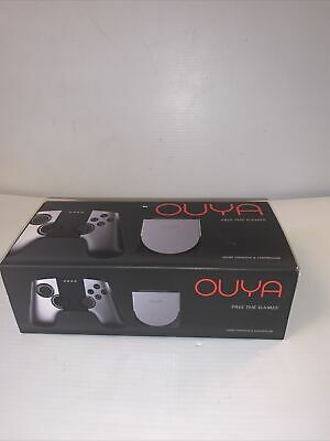$99.99 • Buy OUYA Silver 8GB Android Video Game Console System Open Box, Charger & HDMI