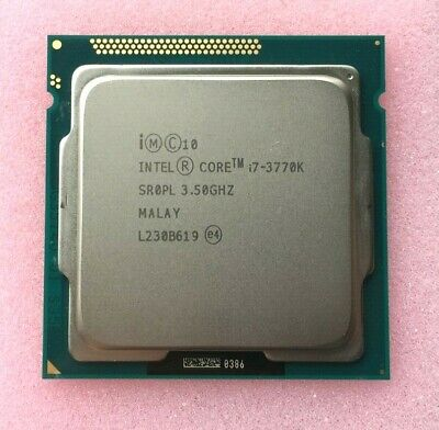 INTEL CORE I7-3770K SOCKET 1155 CPU ~ 3.5 GHZ QUAD CORE / SR0PL • 114.95£