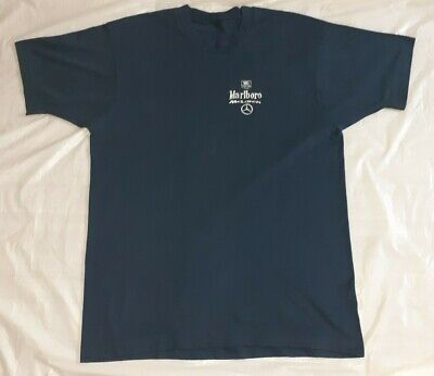 McLAREN MARLBORO TEAM ISSUE T SHIRT L/XL • 60£