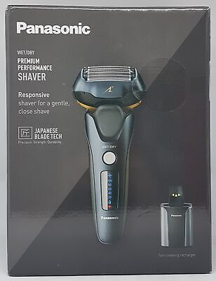 View Details Panasonic ES-LV97-K803 Electric Wet And Dry Shaver, Black New Boxed • 226.89£