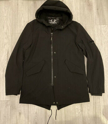 Cp Company | 2XL XXL Goggle Lens Fishtail Parka Jacket Coat Soft Shell Black C.p • 199.99£