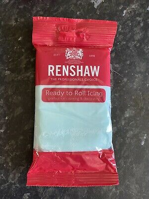 Renshaw Icing - 250g - Light Blue - New • 1.10£