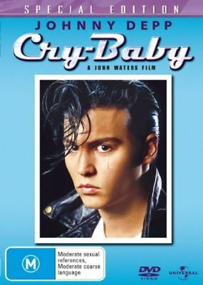 AU12.90 • Buy Cry Baby Dvd, With Johnny Depp, Special Edition, New & Sealed Free Post
