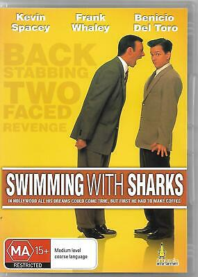 AU4.95 • Buy Swimming With Sharks DVD (1994) Kevin Spacey
